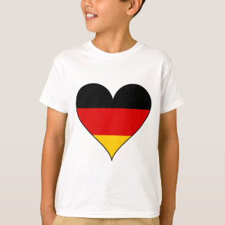 Simple Germany Heart T-Shirt