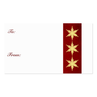 Simple Gift Tag Double-Sided Standard Business Cards (Pack Of 100)