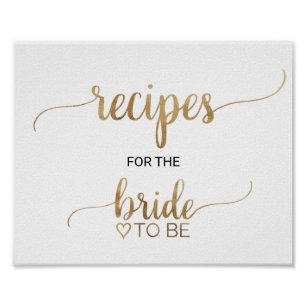 Recipes Sign Art \u0026 Wall Décor