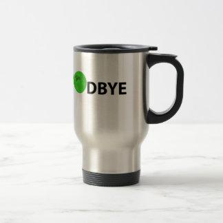 simple goodbye travel mug