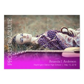 Simple Gradient Grad-Orchid Card