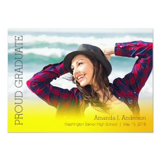 Simple Gradient Grad-Yellow Card