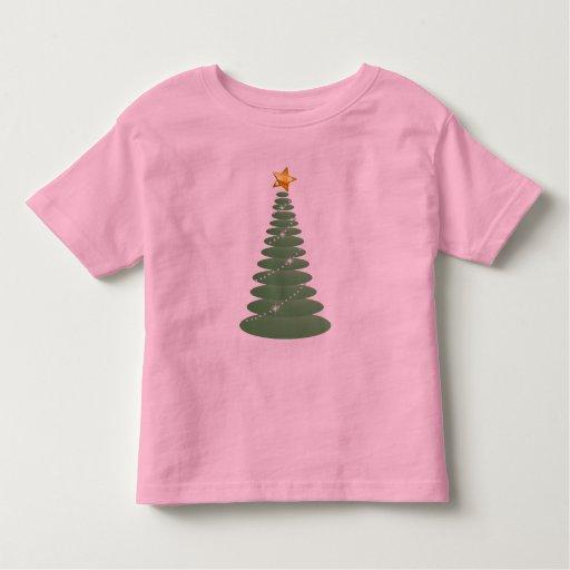 Simple Green Christmas and Star Shirts