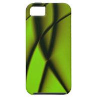 Simple Green Fractal Design iPhone 5 Case