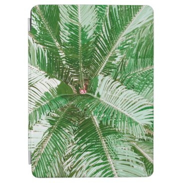 Simple Green Palm Leaves Artwork   iPad Air Case