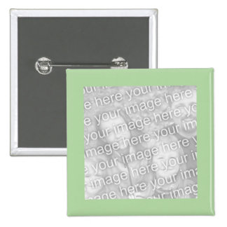 simple green photo frame button