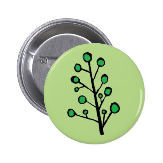 Simple Green Tree Button