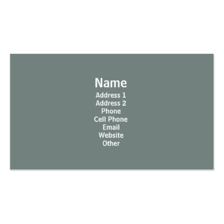 Simple Grey Business Cards