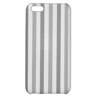 Simple Grey on Gray Stripes Iphone Case iPhone 5C Cover