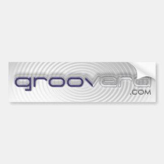 Simple Groovera Thumper Sticker Bumper Sticker