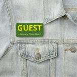 """[ Thumbnail: Simple """"Guest"""" Name Tag ]"""