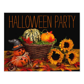 Simple Halloween Party Invitations