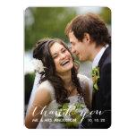 Simple Handwriting | Wedding Photo Thank You Card Custom Invites