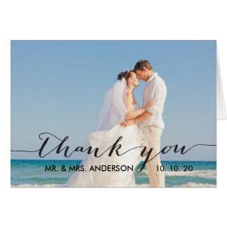 thank you wedding cards zazzle