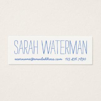 Simple Handwritten Look Calling Card