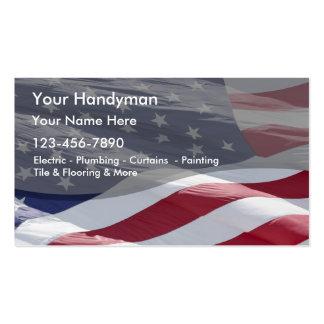 Simple Handyman Business Card