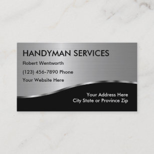 Handyman business cards zazzle simple handyman business cards colourmoves