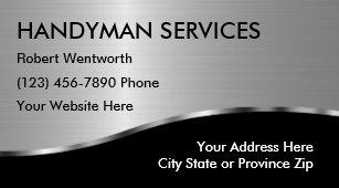 Handyman business cards zazzle simple handyman business cards colourmoves