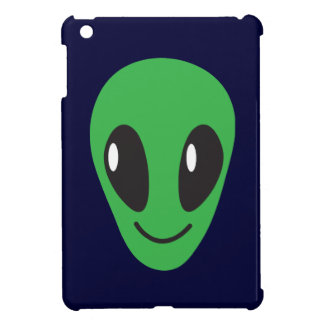 Simple happy smiling ALIEN! Cover For The iPad Mini