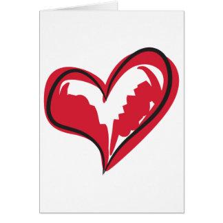 Simple Heart Card