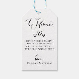 5a2528235 Simple Hearts Wedding Welcome Bag Gift Tags