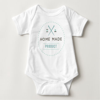 Simple Homemade Product Baby Bodysuit