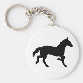 simple horse keychain