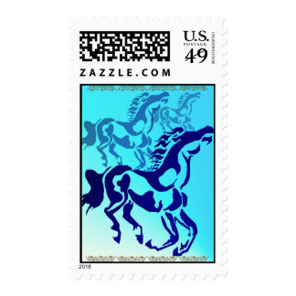 Simple Horse Stamps
