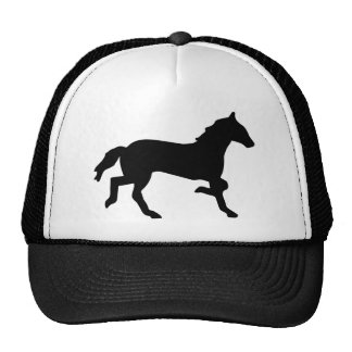 simple horse trucker hat