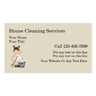 299 residential cleaning business cards and residential for Residential cleaning business cards