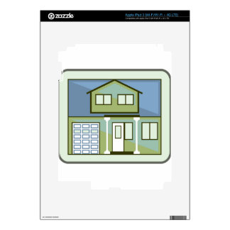 Simple House Decal For iPad 3