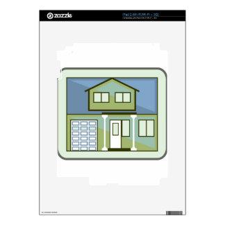 Simple House iPad 2 Skins
