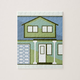 Simple House Jigsaw Puzzle