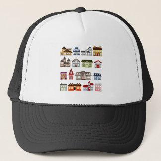 Simple Houses Trucker Hat