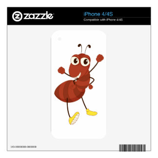 Simple insect iPhone 4S skin