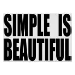 SIMPLE_IS_BEAUTIFUL POSTERS