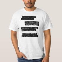 Simple Isn't Always Easy Shirts
