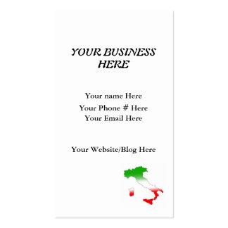 Simple Italian Business Card