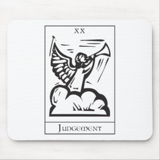 Simple Judgement Tarot Mouse Pad