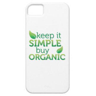 Simple Keep it buy organic iPhone SE/5/5s Case