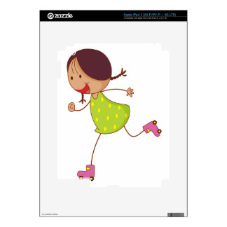 Simple kid decal for iPad 3