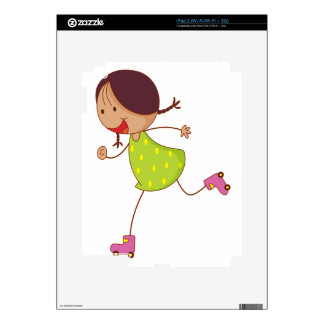 Simple kid decals for iPad 2