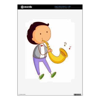 Simple kid iPad 2 decals