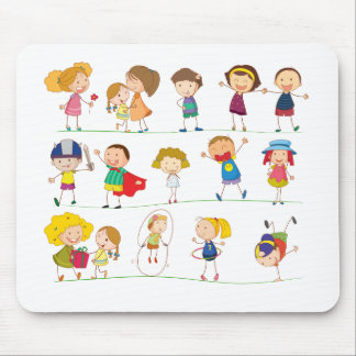 Simple kids mouse pad