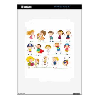 Simple kids iPad 2 skin
