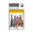 Simple Kwanzaa stamp