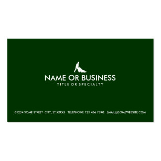 simple lawn mowing Double-Sided standard business cards (Pack of 100)