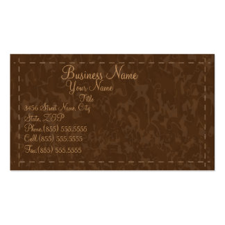 Simple Leather Business Card