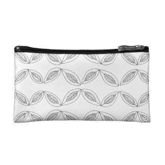 Simple Leaves Cosmetic Bag