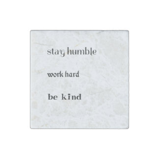 Simple Life message marble magnet